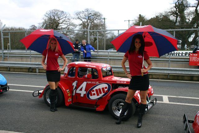 Legends car at drama packed oulton park news inex us legend cars
