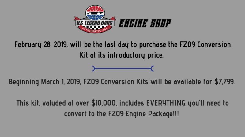FZ09 Pricing Update