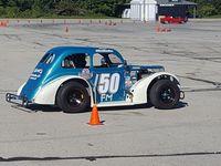 Kurt Vierthaler, SCCA event, Miller Park , Milwaukee