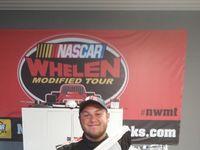 Jordan O'Brien at Thompson Motor Speedway. Jordan's first weekend sweep, winning both races that weekend.