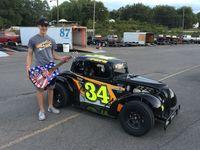 Nolan Pope, Semi-Pro  Feature Win, Fairground Speedway,